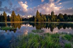 a breath of spring (simonsphotos2011) Tags: travel sky lake reflection water field skyline clouds sunrise river landscape photography spring nikon mask outdoor parks grand jackson tokina landing national layer serene wyoming tetons f28 d610 1628mm swabackers