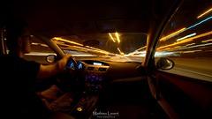 Unleash (Vernamm2) Tags: longexposure canada car night speed lights nikon highway montreal trails fast explore qubec lighttrails mazda 2016