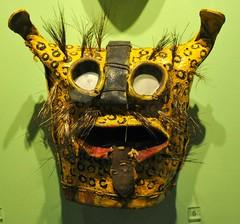 Jaguar Mask Zitlala Guerrero Mexico (Teyacapan) Tags: santacruz mexico mexican masks museo tigre guerrero nahua zitlala tecuani