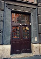 Art Nouveau door (elinor04 thanks for 24,000,000+ views!) Tags: building architecture hungary budapest secession architect artnouveau decayed 1905 vidor vidoremil