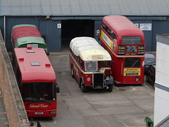 Char A Banc fleet (Coco the Jerzee Busman) Tags: uk bus islands coach jersey char tours channel banc