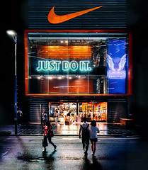 Just.Do.It.1 (Jeremy Langley) Tags: guangzhou china night nightlights nike justdoit nikestore
