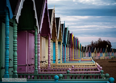 Candy Crush (Fred-Adams) Tags: england abstract beach coast colours candy scenic huts coastal repetition shelter picturesque essex beachhuts repeat repeatingpatterns candycolours westmersea woodenhuts