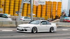 Silvia S14 (ChesterC Photography) Tags: auto cars car hongkong automobile asia nissan power automotive turbo silvia d750 vehicle fr jdm d1 drift initiald s14