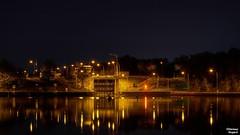 08. Nachts am Kanal 05-2016 (Possy 2016) Tags: nacht architektur hdr schleuse nachtaufnahmen datteln hdrbilder nikond7200 tamron16300mmf3563macro schleusedatteln