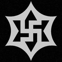 six pointed star | square swastika #7 (synartisis) Tags: square star symbol swastika six pointed raelian