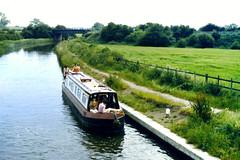 Slide 060-25 (Steve Guess) Tags: uk england canal lock pegasus derbyshire trent gb inland narrowboat mersey waterway derbys