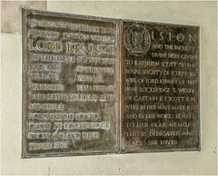 Wall plaque (Clive1945) Tags: d7100 church scott antartic antarctic bronze