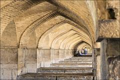 Pol-e Khajo-3 (Poria) Tags: bridge art architecture design persian ancient view iran perspective  isfahan   khajoo persianart persianarchitecture architecht