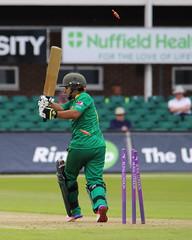 Katherine Brunt_Wicket (john.mallett) Tags: cricket ecb odi englandvpakistan womanscricket englandwoman fischercountyground