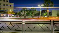 Car light trails (sideris_bill) Tags: city longexposure light urban cars love car night movement exposure sony trails greece trail nightsky a58 elefsis elefsina elefsina2021