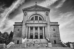 Moody St Joseph's (p-ascoli) Tags: sky canada church st clouds joseph cross cathedral outdoor montreal royal x fujifilm mont xseries fuij fujix xpro2 fujifilmx fujixpro2 fujifilmxpro2