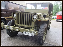 Ford GPW, 1945 (v8dub) Tags: auto old classic ford car army schweiz switzerland automobile suisse jeep 4x4 military automotive voiture american oldtimer oldcar 1945 militaire collector arme militr gpw wagen pkw klassik gelndewagen grandvillard worldcars