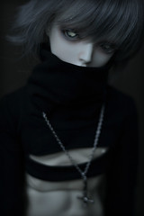 Sexy boy (Mientsje) Tags: white angel ball dark doll skin vampire gothic goth dream super sd ricardo bjd hybrid abjd jointed aod dolfie napidoll
