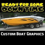 """Give your boat a new look with custom boat graphics including boat registration numbers, boat names, custom graphics and pinstripes! <a style=""""margin-left:10px; font-size:0.8em;"""" href=""""https://www.flickr.com/photos/99185451@N05/27596667851/"""" target=""""_blank"""">@flickr</a>"""