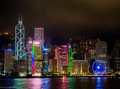 The Fluorescent Hong Kong (ravi_pardesi) Tags: city nightphotography colors beautiful beauty skyline night skyscraper photography hongkong amazing pacific cityscapes serene pho longshutter awesomeness photooftheday picoftheday nig primeshot