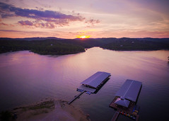 170:366 - Drone Table Rock Sunset (RedBoy [Matt]) Tags: sunset lake mo missouri phantom branson ozark tablerock drone dji