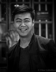 Joven chino (Picabal) Tags: china smile chinese young streetphotography happiness sonrisa felicidad lanzhou joven