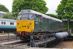 31 452 - Kidderminster (GreenHoover) Tags: severnvalleyrailway svr svrdiesel dieselgala dieselgala2016 diesellocomotive loco locomotive kidderminster class31 dcr devonandcornwallrailways 31452