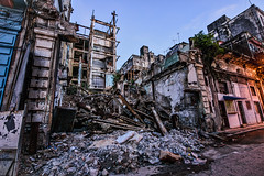 Three a Day (Geoff Livingston) Tags: urban building rust decay havana collapse exploration corrosion rebar