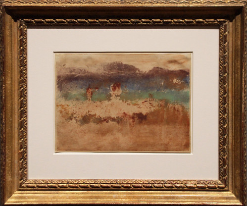 Edgar Degas - Autumn Landscape 1890