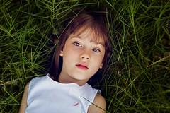 Rest time (www.sergeybidun.com) Tags: portrait eye nature girl face grass kid child