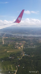 Kendari from the air (irene yf) Tags: landscape fromabove fromtheair kendari lndonesia southeastsulawesi