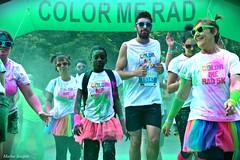 COLOR ME RAD (Miaouva) Tags: colormerad n nantes couleurs poudre encre fte sport garon foule joie smile sourire enfant tutu rose vert photographie