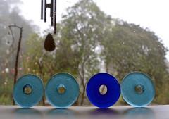 Windowsill (graeme37) Tags: blue windowsill blueglass glassrings