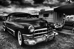 Cadillac (The_Random_Photographer) Tags: 1685mm retrofestival mono classic chrome cadillac pentax k3ii