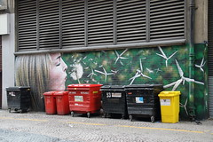 Murals in Glasgow (Paul Emma) Tags: uk scotland glasgow mural art windpower rogueone artpistol