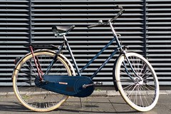 Simplex-Novum-Neo-Retro-Resto-1 (@WorkCycles) Tags: 1950s amsterdam bicycle bike dames damesfiets dutch fiets frame ladies neoretro novum oude parallel restoration retro simplex