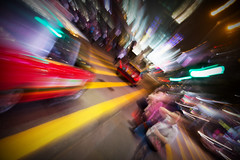 the future perfect (MdKiStLeR) Tags: color movement motion blur street speed taxi hongkong asia thefutureperfect kowloon tst night 2016 mdkistler copyrightmichaelkistler chungking mansions