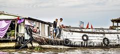 Mekong Delta (ich_onja_anja) Tags: schwimmendermarkt fluss delta mekong mekongdelta asien vietnam