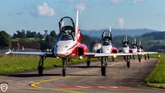 F5-Tiger @ Emmen Air Base (brutus_ch) Tags: f5 f5tiger tiger fa18hornet swissairfoce schweiz swiss swissarmy emmenairbase emmen aviation military jet power