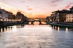 Ponte Vecchio (Paco Esteve Herrero) Tags: pontevecchio firenze puente puenteviejo atardecer ro italy italia franciscoesteveherrero 2016 pacoesteveherrero nikond5300