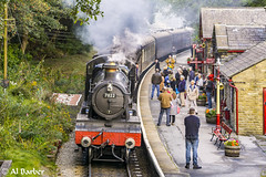 Haworth Station (al.barber1) Tags: haworth steamtrain kwvr