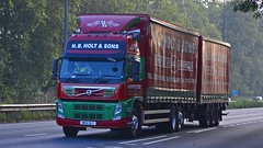 MR12 OLT (panmanstan) Tags: volvo fm wagon truck lorry commercial drawbar freight transport haulage vehicle a63 southcave yorkshire