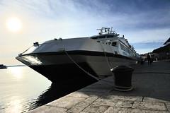 Große Yacht