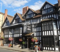 [45392] Stratford : Shakespeare Hotel (Budby) Tags: stratford stratfordonavon stratforduponavon warwickshire timbered hotel