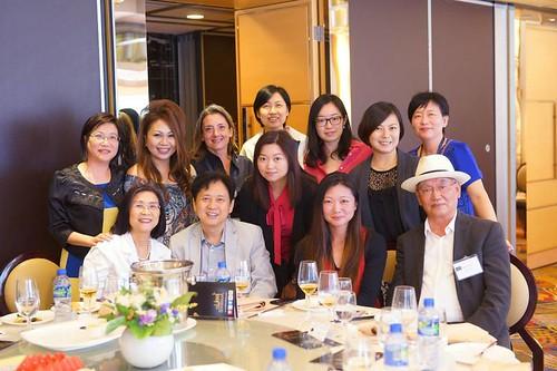 Les Sweet Bordeaux en Chine - automne 2014 - Déjeuner de presse