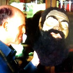 An Odd Fellows papier mache Goliath head was purchased for USD$100. on the American Pickers TV program thumbnail