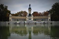 Hola Madrid! [Explored] (Manos Eleftheroglou (Photography)) Tags: madrid trip november autumn monument statue spain nikon europe alfonso monumento espana xii hola explored d5000     nikond5000