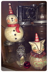 Celeste's-Photo-Johanna-Parker-Collection-Ball-Characters (Johanna Parker Design) Tags: christmas decorations holiday cat snowman folkart snowmen whimsical celeste hoosier johannaparker collectorspotlight