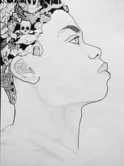 (theosigot) Tags: portrait newyork sketch dessin draw homme rve
