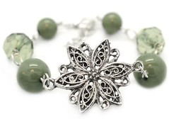 Glimpse of Malibu Green Bracelet P9431A-3