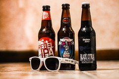 Beer Vision (Lake Effect) Tags: beer sunglasses bottle flickr mosh rogue samadams 205 deadguy ironphotographer oddsideales rebelipa blackcitra utata:project=ip205