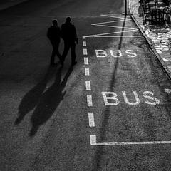 Hotel Post (fotomanni.de) Tags: italien bus schatten haltestelle sdtirol dolomiten innichen