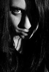 Ghost (AlbaStark) Tags: pink blue light shadow sky dog sun moon black water glass girl beautiful pencil cat mouth dark hair nose big nice eyes long paint skin lips luna pale ugly watercolour strugged