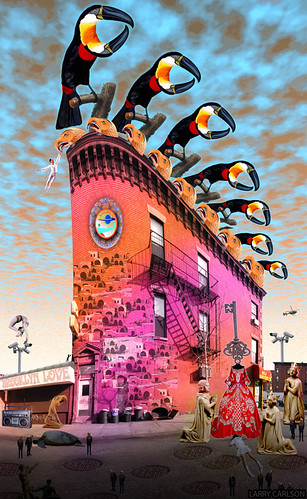 LARRY CARLSON, Brooklyn Bird Queen, 2014.